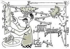Rube Goldberg Machine | _ _ _ Art & Design @ ROCvA