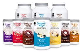 designer whey protein powder personal