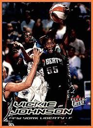 2000 Ultra WNBA #16 Vickie Johnson NEW YORK LIBERTY LOUISIANA TECH ...