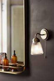 pimlico bathroom wall light in satin