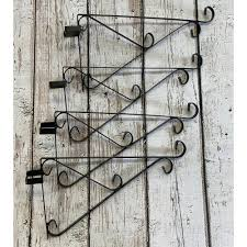 Ornate Hanging Basket Brackets For Concrete Fence Posts Set Of 4