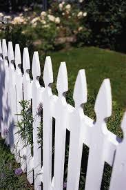 Inside Urban Green White Picket Fences