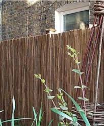 Bamboo Screening Roll 4ft Natural Fencing
