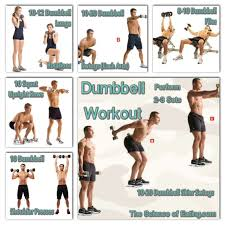 dumbbell workout routine for strength