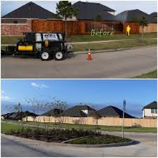Entire Subdivision Wood Fence Cleaning In Richmond Tx Latest Project From Kt Power Washing