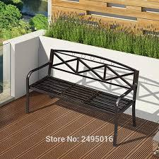 3 persons patio garden bench park yard