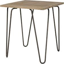 industrial style pin leg side table