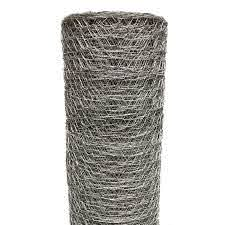 Poultry Netting 6 Ft X 150 Ft Chicken Wire Metal Mesh Fence Garden Plant Fencing Ebay