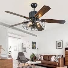 led pendant light ceiling fans