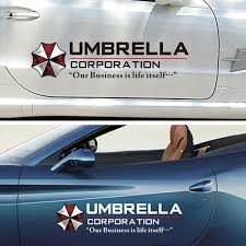 Car Reflective Resident Film Evil Sticker Umbrella Corporation Door Personalized Decals Decor Buy At A Low Prices On Joom E Commerce Platform