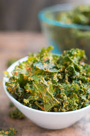 best ever cheesy kale chips is right