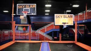 sky zone indoor troline park you