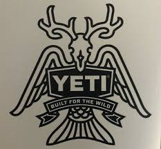 Yeti Sticker Decal New Authentic Built For The Wild W Snake Heads 4 99 Picclick