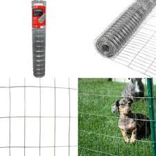 Everbilt 5 Ft X 50 Ft 14 Gauge Galvanized Steel Welded Wire Garden Fence