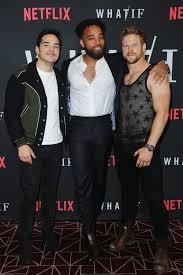 Juan Castro, Derek Smith, John Clarence Stewart - Derek Smith Photos -  Premiere Of Netflix's 'What/If' - Zimbio