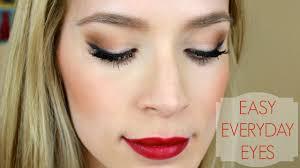 pretty easy eye makeup tutorial