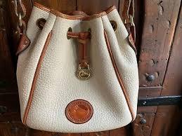 weather leather drawstring bag