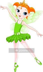 Rainbow Colors Ballerinas Series Green Ballerina Wall Decal Pixers We Live To Change