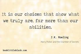 j k rowling quotes book little black