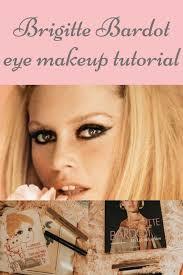 brigitte bardot 1960s cat eye make up