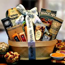 gourmet nut sausage gift basket