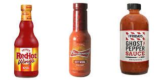 bought en hot wing sauces
