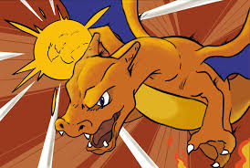 Charizard using Mega Punch by me : pokemon