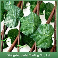 China Garden Expandable Artificial Plastic Laurel Leaves Trellis Bamboo Panel Boxwood Mat Ivy Privacy Fence China Artificial Plant And Fence Price