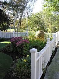 Landscape Design Ideas Pictures Remodel And Decor Fence Landscaping Front Yard Landscaping Backyard Fences