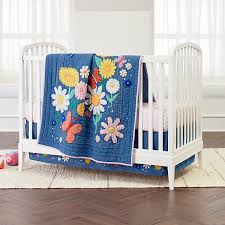 flower child crib bedding crate and