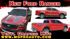 2019 2020 Ford Ranger Stripes Ford Ranger Decals Ford Ranger Vinyl Graphic Kits Youtube