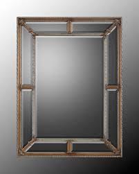 mirrors surrounding wall mirror