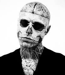 half skull look chrisspy