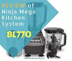 review of ninja mega kitchen system bl770