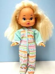 1980s mattel 2 dolls little lil miss