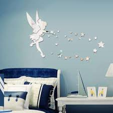 Removable Fairy Mirror Wall Sticker Decal 3d Diy Acrylic Wall Decal Wallpaper Home Kids Bedroom Living Room Decoration Sticker Wall Art Quote Stickers Wall Art Quotes From Fly 666 7 03 Dhgate Com