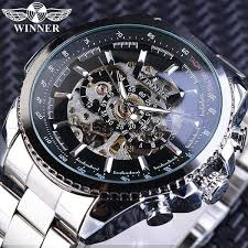 mens sport watches stainless steel band