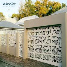 China Modern Easily Assembled Metal Laser Cut Fence Panel Screen China Aluminum Fence Gate And Metal Aluminum Fence Gate Price