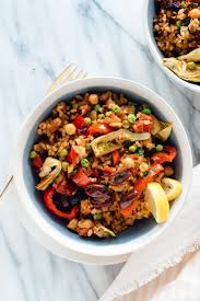 Vegetable Paella Recipe - Cookie and Kate