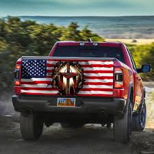 Jesus Christian America Truck Tailgate Decal Sticker Wrap Thh2603td Cupomg