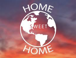 Home Sweet Home Planet Earth Vinyl Sticker Decal For Car Etsy