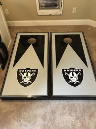 Hand Painted Sports Theme For Hole Boards Cornhole Designs Cornhole Boards Corn Hole Game