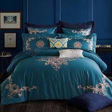 j2 embroidered luxury bedding set