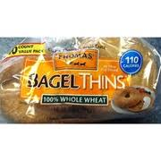 bagel thins 100 whole wheat calories