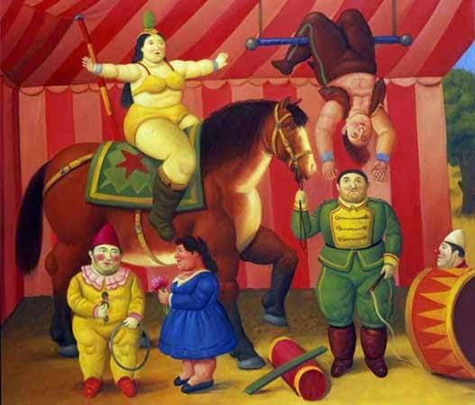 """Resultado de imagen de circo pintura"""""""