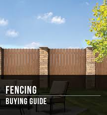 Fencing Buying Guide At Menards