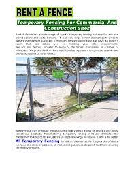 Fencing Contractors Brisbane All Temporary Fencing