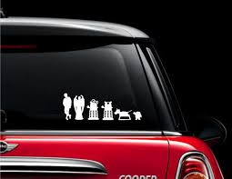 Doctor Who Stick Family Vinyl Decal Sticker Harry Potter Car Car Decals Vinyl Vinyl Car Stickers