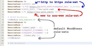 to s htaccess 301 redirect