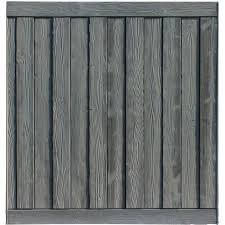 Simtek 3 Ft H X 6 Ft W Ashland Composite Fence Panel Wayfair